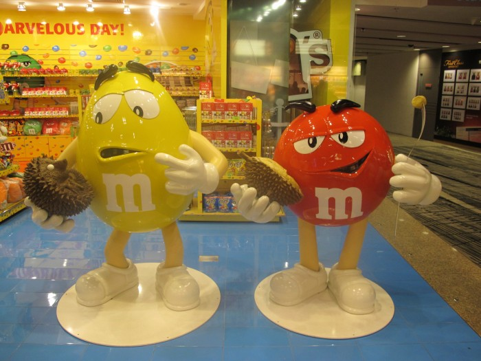 Day 18: M&Ms love durian too!